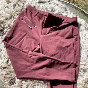 Gap burgundy pants